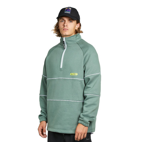 Butter Goods - Piping 1/4 Zip Pullover