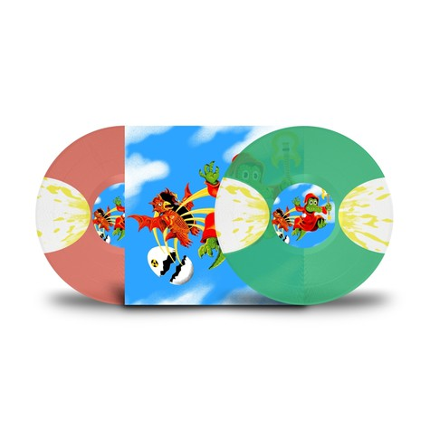 King Gizzard & The Lizard Wizard - Live in Melbourne '21 Colored With Splatter Vinyl Edition