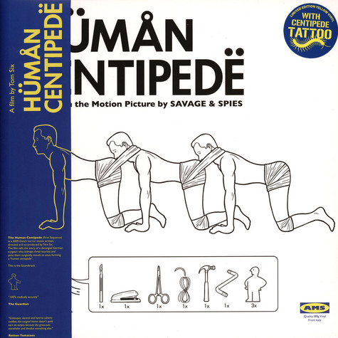 Savage & Spies - OST The Human Centipede Yellow Vinyl Edition