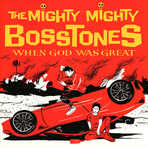 Mighty Mighty Bosstones - When God Was Great Red, White, Yellow Spatter Vinyl Edition