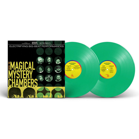Wu-Tang Vs The Beatles - Enter The Magical Mystery Chambers Green Vinyl Edition