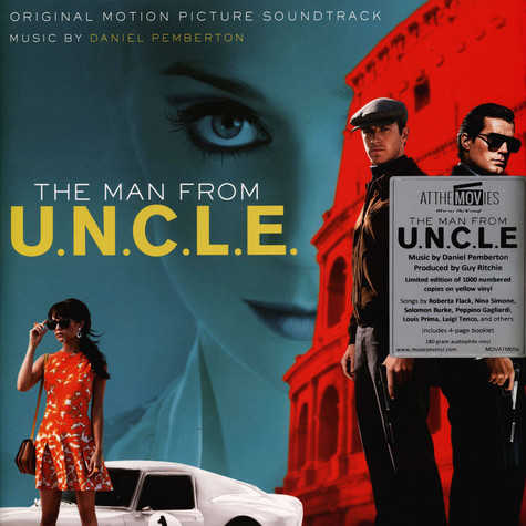 V.A. - OST Man From U.N.C.L.E. Yellow Vinyl Edition