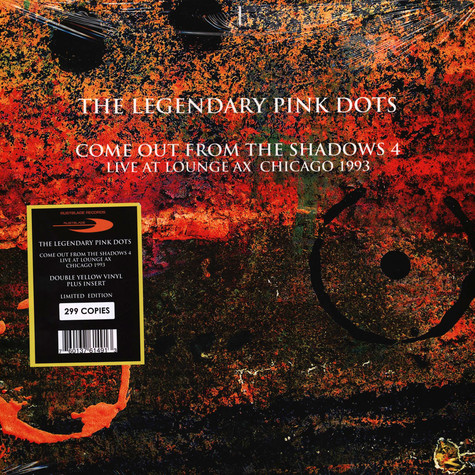 Legendary Pink Dots, The - Live At Lounge Ax Chicago 1993 Limited Box Edition