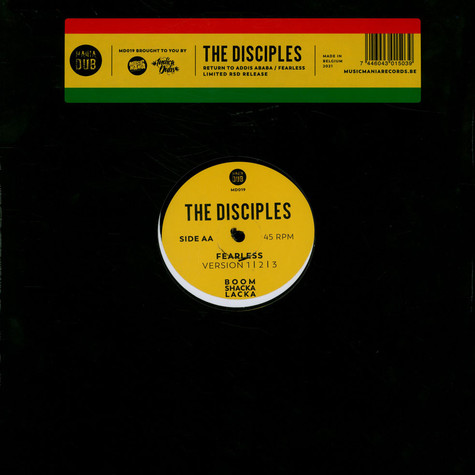 Disciples, The - Return To Addis Ababa / Fearless Record Store Day 2021 Edition