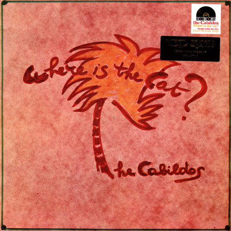 Cabildos, The - Where Is The Cat? Clear Orange Vinyl Record Store Day 2021 Edition