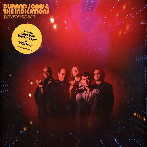 Durand Jones & The Indications - Private Space Black Vinyl Edition