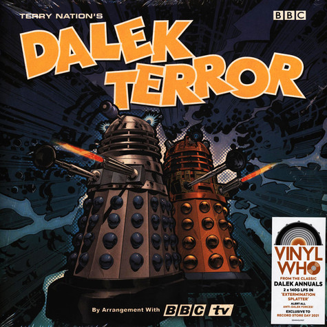 V.A. - Doctor Who Terry Nation's Dalek Terror Splatter Record Store Day 2021 Edition
