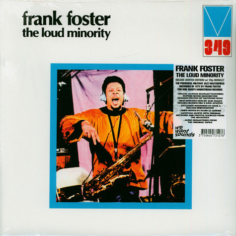 Frank Foster - The Loud Minority Record Store Day 2021 Edition