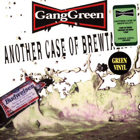 Gang Green - Another Case Of Brewtality/I Fear Green Record Store Day 2021 Edition