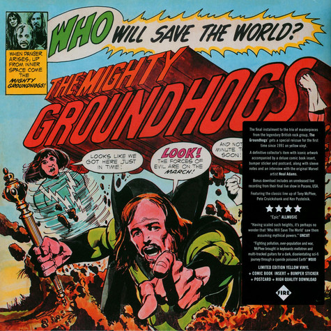 Groundhogs - Who Will Save The World Record Store Day 2021 Edition