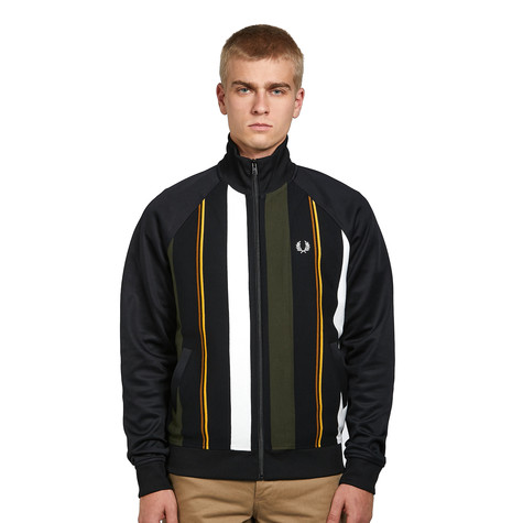 Fred Perry - Knitted Stripe Track Jacket