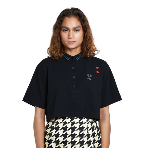 Fred Perry x Amy Winehouse Foundation - Cropped Pique Shirt