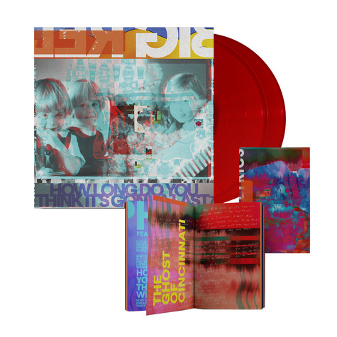 Big Red Machine - How Long Do You Think It´S Gonna Last? European HHV Exclusive Lyric Book Edition