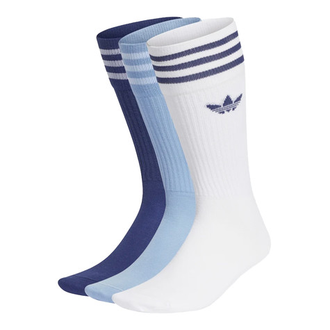 adidas - Solid Crew Sock (Pack of 3)