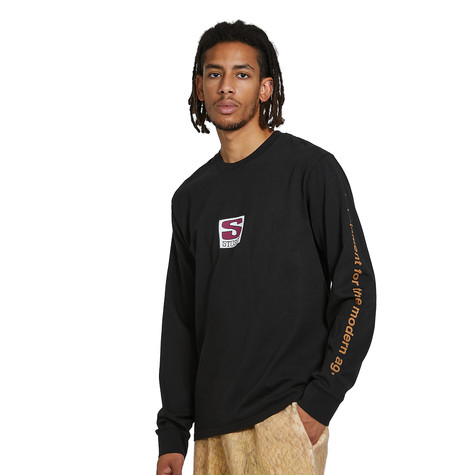 Stüssy - Equipment Company Pigment Dyed LS Tee