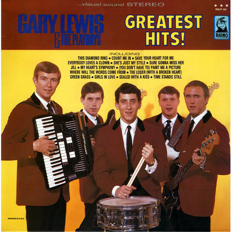 Gary Lewis & The Playboys - Greatest Hits!