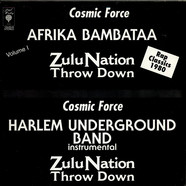 Afrika Bambaataa, Zulu Nation, Cosmic Force / Harlem Underground Band - Zulu Nation Throw Down
