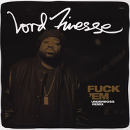 Lord Finesse - Fuck 'Em Underboss Remix Black Vinyl Edition