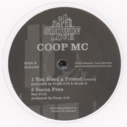 Coop MC - Watt Up Homie Grey & White Vinyl Edition
