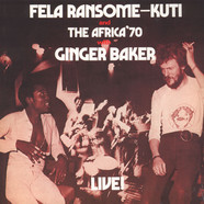 Fela Kuti - Fela With Ginger Baker Live
