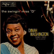 Dinah Washington With Quincy Jones And His Orchestra - The Swingin' Miss