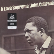 John Coltrane - A Love Supreme Clear Vinyl Edition