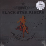 Black Star Riders - All Hell Breaks Loose Clear Vinyl Edition