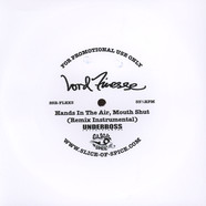 Lord Finesse - Hands In The Air, Mouth Shut Remix Flexi Disc