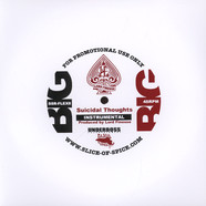 Lord Finesse - Suicidal Thoughts Instrumental Flexi Disc