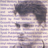 Fred Ventura - International Language