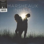 Marsheaux - Inhale Blue & White Half & Half Vinyl Edition