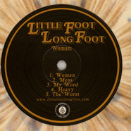 Little Foot Long Foot - Woman Bronze/ Bone Vinyl Edition