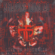Strapping Young Lad - No Sleep 'Till Bedtime - Live In Australia Transparent Orange Vinyl