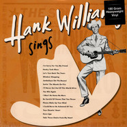 Hank Williams - Sings 180g Vnyl Edition