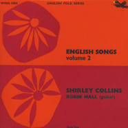 Shirley Collins & Robin Hall - English Songs Volume 2