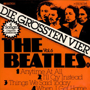 Beatles, The - Die Grössten Vier Vol. 6