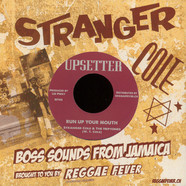 Stranger Cole & Heptones, The / Upsetters, The - Run Up Your Mouth / Version Mouth