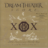 Dream Theater - Score: 20th Anniversary World Tour Gold Vinyl Edition