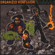 Organized Konfusion - Stress: The Instrumental Agenda Black Vinyl Edition