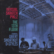 Invisibl Skratch Piklz - The 13th Floor Baby Blue Vinyl Edition