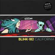 Blink 182 - California Black Vinyl Deluxe Edition