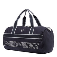 Fred Perry - Sport Canvas Barrel Bag