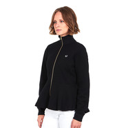 Fred Perry - Peplum Tricot Track Jacket