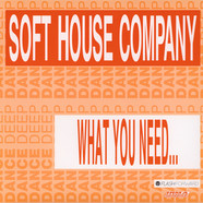 Soft House Company - What You Need… Black Vinyl Edition