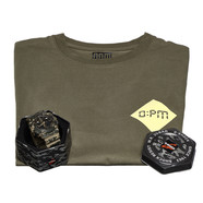 OPM x G-Shock - GA-100CM-5AER Box (incl. T-Shirt)