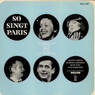 Juliette Greco / Georges Brassens / Edith Piaf / Yves Montand - So Singt Paris