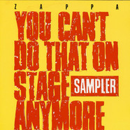 Frank Zappa - You Can't Do That On Stage Anymore Sampler