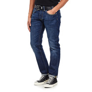 Edwin - ED-55 Regular Tapered Jeans Kingston Blue Denim, Cotton, 12 oz