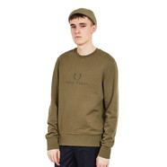 Fred Perry - Tonal Embroidered Sweat