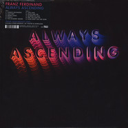 Franz Ferdinand - Always Ascending Black Vinyl Edition